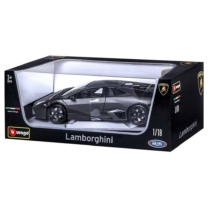 Fém autó Lamborghini Reventon fekete 1:18 Bburago