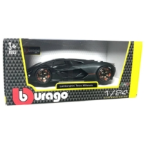 Fém autó Lamborghini Terzo Milennio matt fekete 1:24