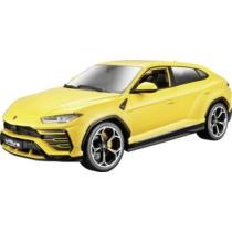 Fém autó Lamborghini Urus sárga 1:18