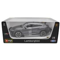 Fém autó Lamborghini Urus szürke 1:18