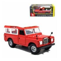 Fém autó Land Rover piros 1:24