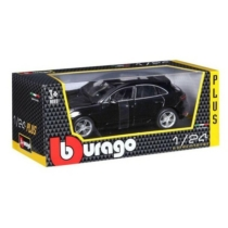 Fém autó Porsche Macan fekete 1:24