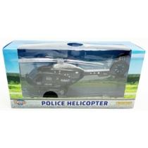 Fém hátrahúzós helikopter hanggal és fénnyel