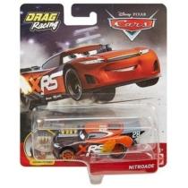 Fém kisautó fekete Verdák Xtreme Drag Racing Nitroade