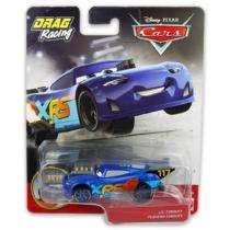 Fém kisautó kék Verdák Xtreme Drag Racing Lil Torquey