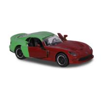 Fém kisautó színváltós Dodge SRT Viper zöld és barna