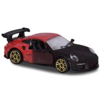 Fém kisautó színváltós Porsche 911 GT3 RS barna és fekete