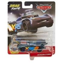 Fém kisautó szürke Verdák Xtreme Drag Racing Jackson Storm