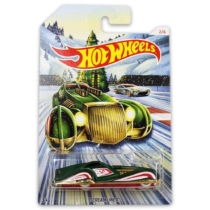 Fém kisautó zöld Screamliner Hot Wheels