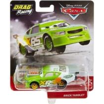 Fém kisautó zöld Verdák Xtreme Drag Racing Brick Yardley
