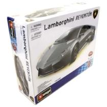 Fém makett autó Lamborghini Reventón Metal KIT szürke 1:24 Bburago
