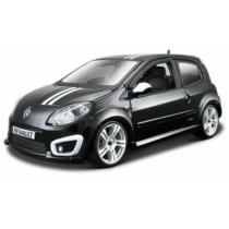 Fém makett autó Renault Twingo Gordini R.S. Metal KIT fekete 1:24 Bburago