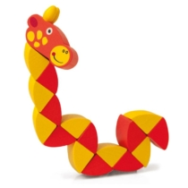 Flexibilis állatok zsiráf fa Woody