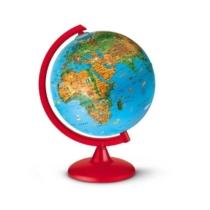 Földgömb állatvilág 25 cm átmérő