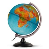 Földgömb klasszikus világító 30 cm átmérő