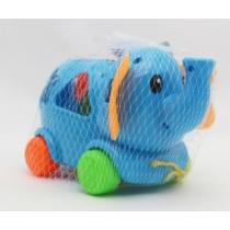 Formabedobó elefánt 5 formával
