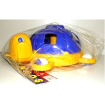 Formaválogató teknős műanyag kék
