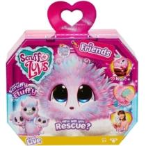 Fur Balls Friends Vattacukor plüss állatka meglepetés pink kutya, láma, cica