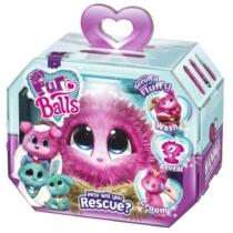 Fur Balls Vattacukor plüssállatka meglepetés pink cica, nyuszi, kutya