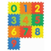 Gyerek tatami habtapi számokkal 10 db-os
