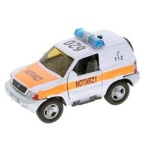 Hátrahúzós fém mentőautó nyitható ajtó fehér