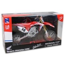 Honda CRF 450R fém motor műanyag borítással Cole Seely 1:6