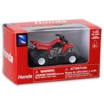 Honda Sportrax 400EX piros fém quad műanyag borítással 1:32