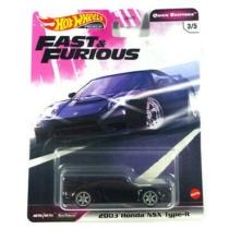 Hot Wheels Fast & Furious fém kisautó 2003 Honda NSX Type-R