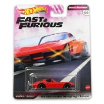 "Hot Wheels Fast&Furious fém kisautó ""65"" Corvette Stingray Coupe"