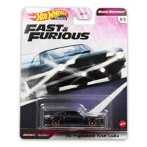 """Hot Wheels Fast & Furious fém kisautó """"70"""" Plymouth AAR Cuda"""