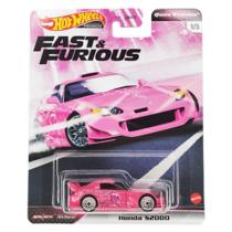 Hot Wheels Fast & Furious fém kisautó Honda S2000