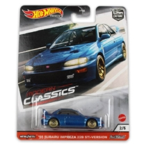 Hot Wheels fém kisautó 98-as Subaru Impreza 22B STi-Version