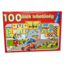 Játékgyűjtemény 100 db-os társasjáték