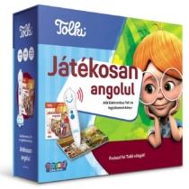 Játékosan angolul Elektornikus Toll és foglalkoztató könyv Tolki