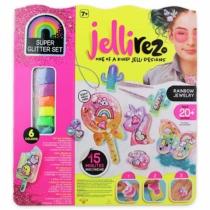 Jelli Rez super glitter szett tervezőműhely 6 színnel