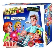 Kamu detektor A játék társasjáték