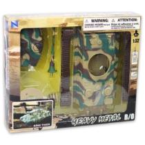 King Tiger katonai tank terepmintás 1:32