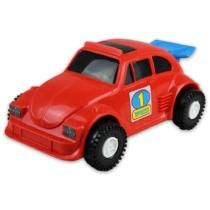 Kisautó Bogár műanyag piros Color Cars
