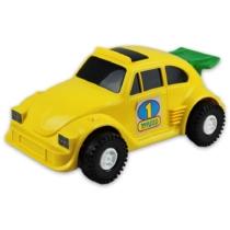 Kisautó Bogár műanyag sárga Color Cars
