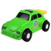 Kisautó Bogár műanyag zöld Color Cars