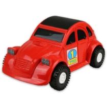 Kisautó Kacsa műanyag piros Color Cars