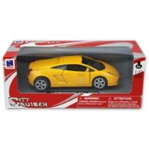 Lamborghini Gallardo sárga fémautó 1:32