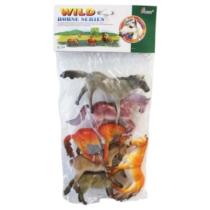 Ló gyűjtemény műanyag zacskós 6 db-os