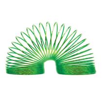 Magic Spring lépcsőjáró rugó műanyag metál zöld színben