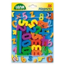 Mágneses betűk és számok 36 db-os