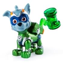 Mancs őrjárat figura Mighty pups super paws Rocky