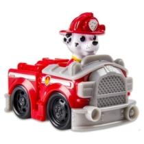 Mancs őrjárat jármű műanyag Marshall piros tűzoltóautó