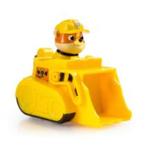 Mancs őrjárat jármű műanyag Rubble sárga markoló
