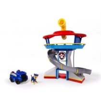 Mancs őrjárat kilátó játékszett járművel, figurával és periszkóppal
