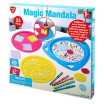 Mandala készító rajzoló készlet 25 db-os